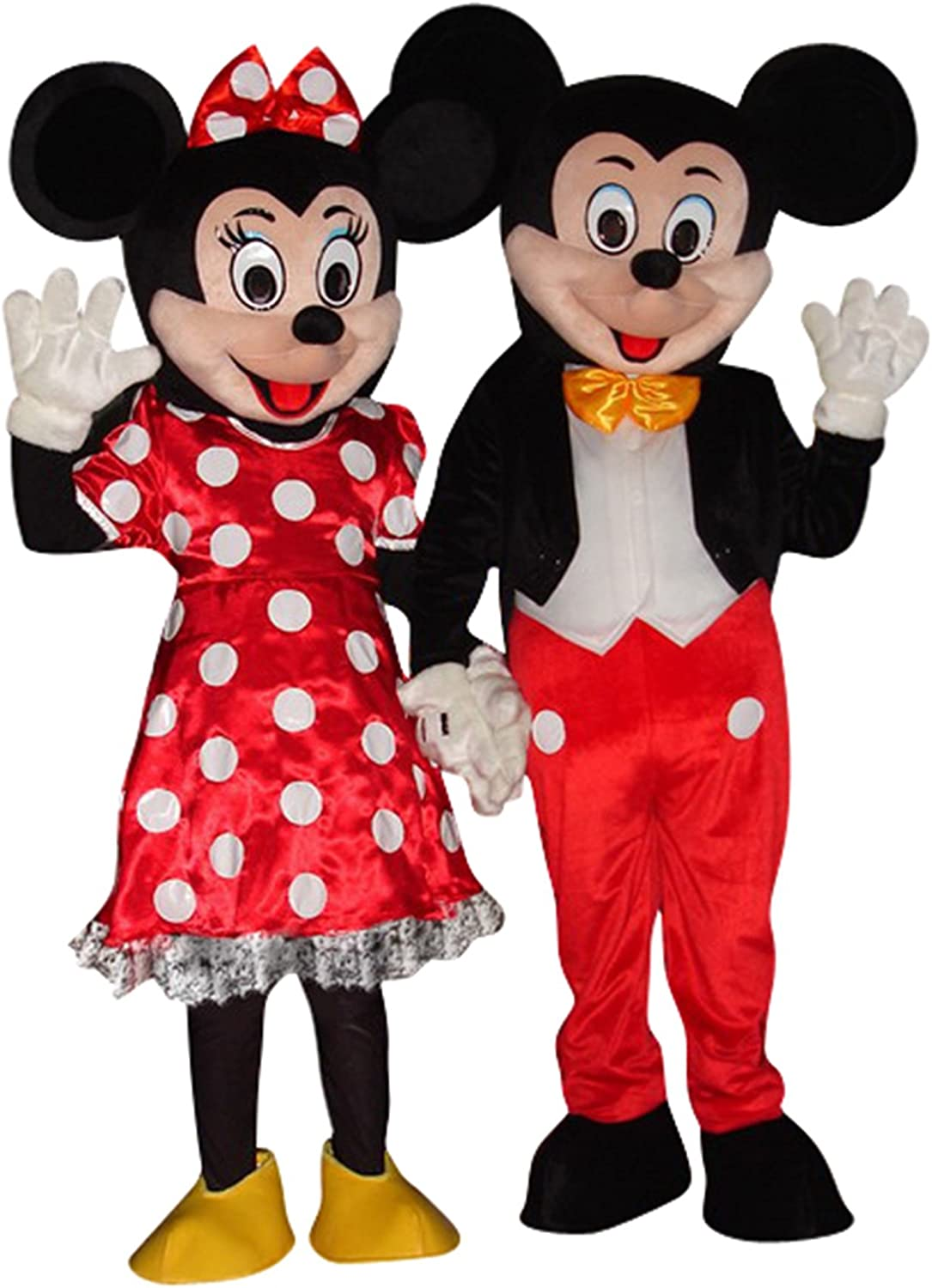 Disfraz de Mickey Mouse y Minnie Mouse, para adultos, para ...