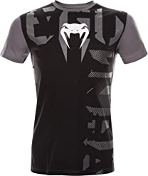 T-Shirt Venum Parallax - Black-s MMA Training Fitness