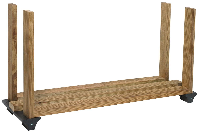 Amazon.com: Stanley Hardware 90142 Hopkins F3 Firewood Rack: Home ...