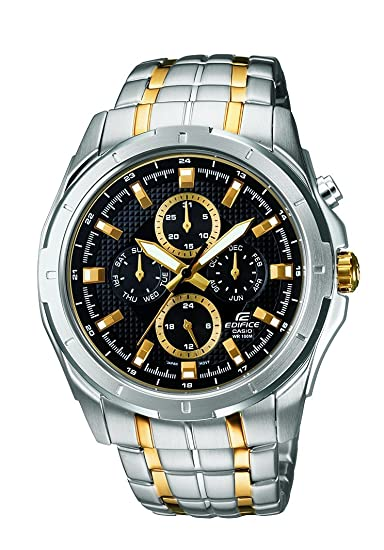 b373187b446 Buy Casio Edifice Chronograph Black Dial Men s Watch - EF-328SG-1AVDF  (ED377) Online at Low Prices in India - Amazon.in