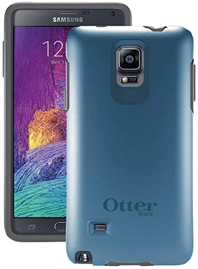 quality design d7371 0344c Otterbox Samsung Galaxy Note 4 Symmetry Series Case - Retail Packaging -  Blue Print Ii