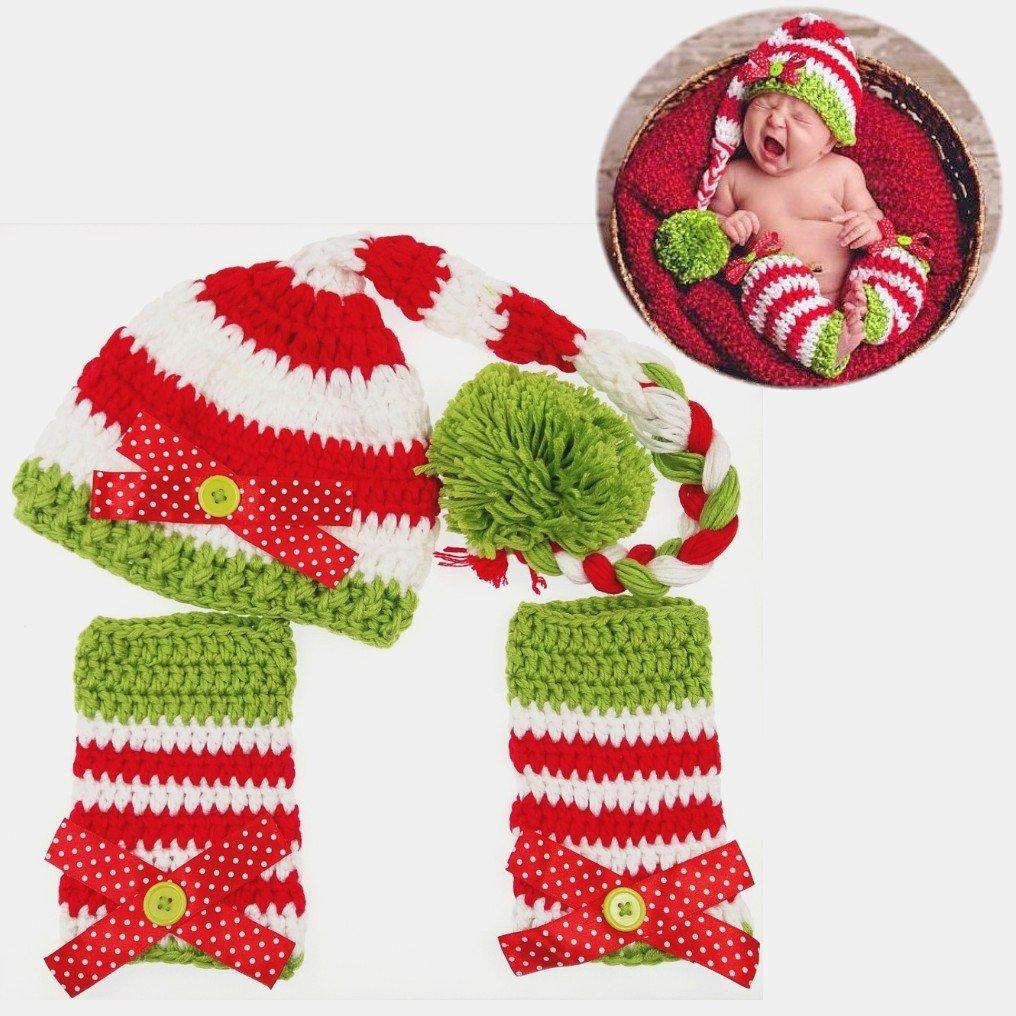 JZK 3 piezas bebé recién nacido fotografía atrezzo 0-6 meses, traje ...