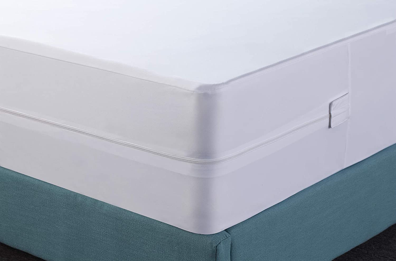 Box Spring Encasement Bed Bug Proof Waterproof Zippered