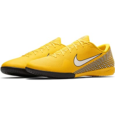 timeless design 371a8 748b4 Nike Vapor 12 Academy NJR IC Chaussures de Futsal Mixte Adulte, Multicolore  (Amarillo