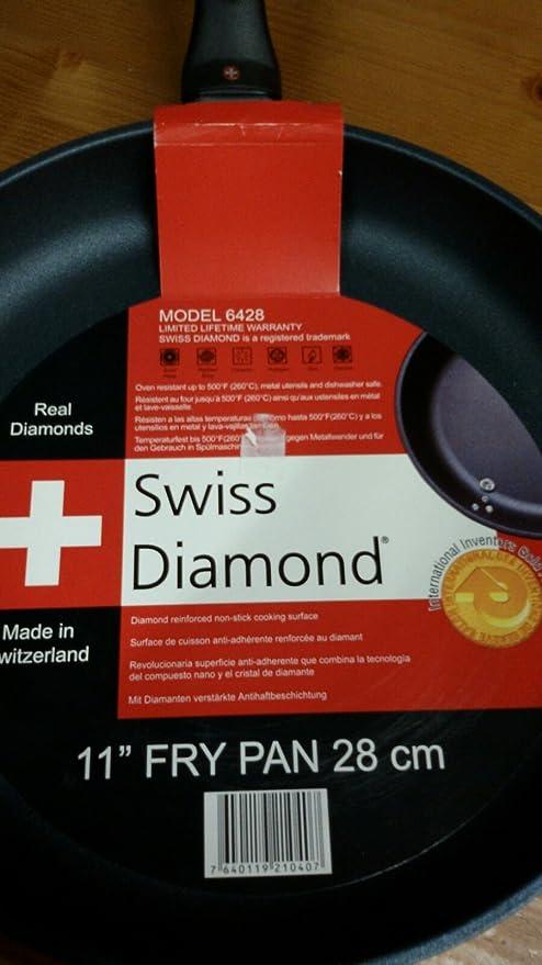 Sartén con revestimiento de diamante