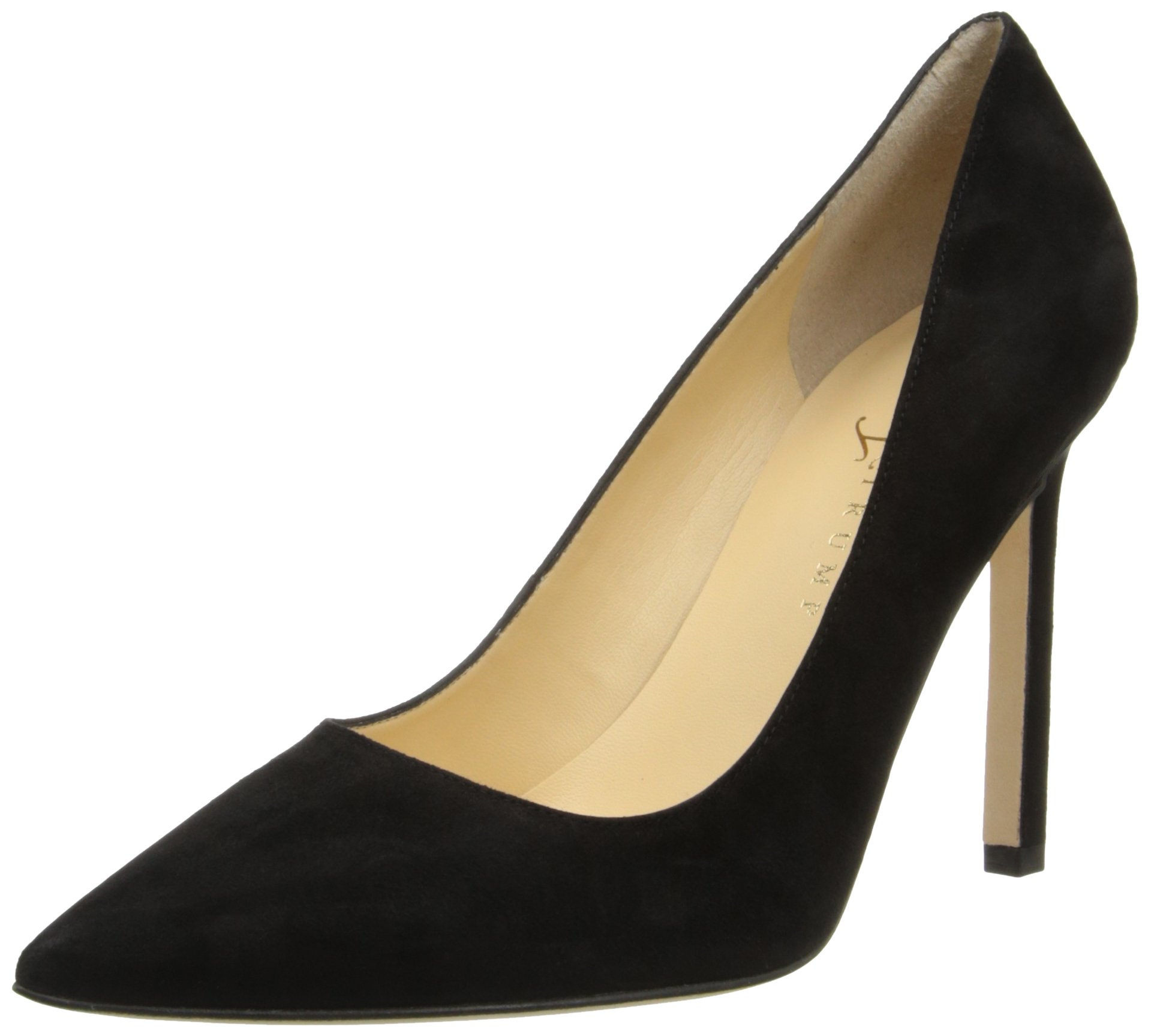 Ivanka Trump Women's Carra Dress Pump, Black Suede, 7 M US