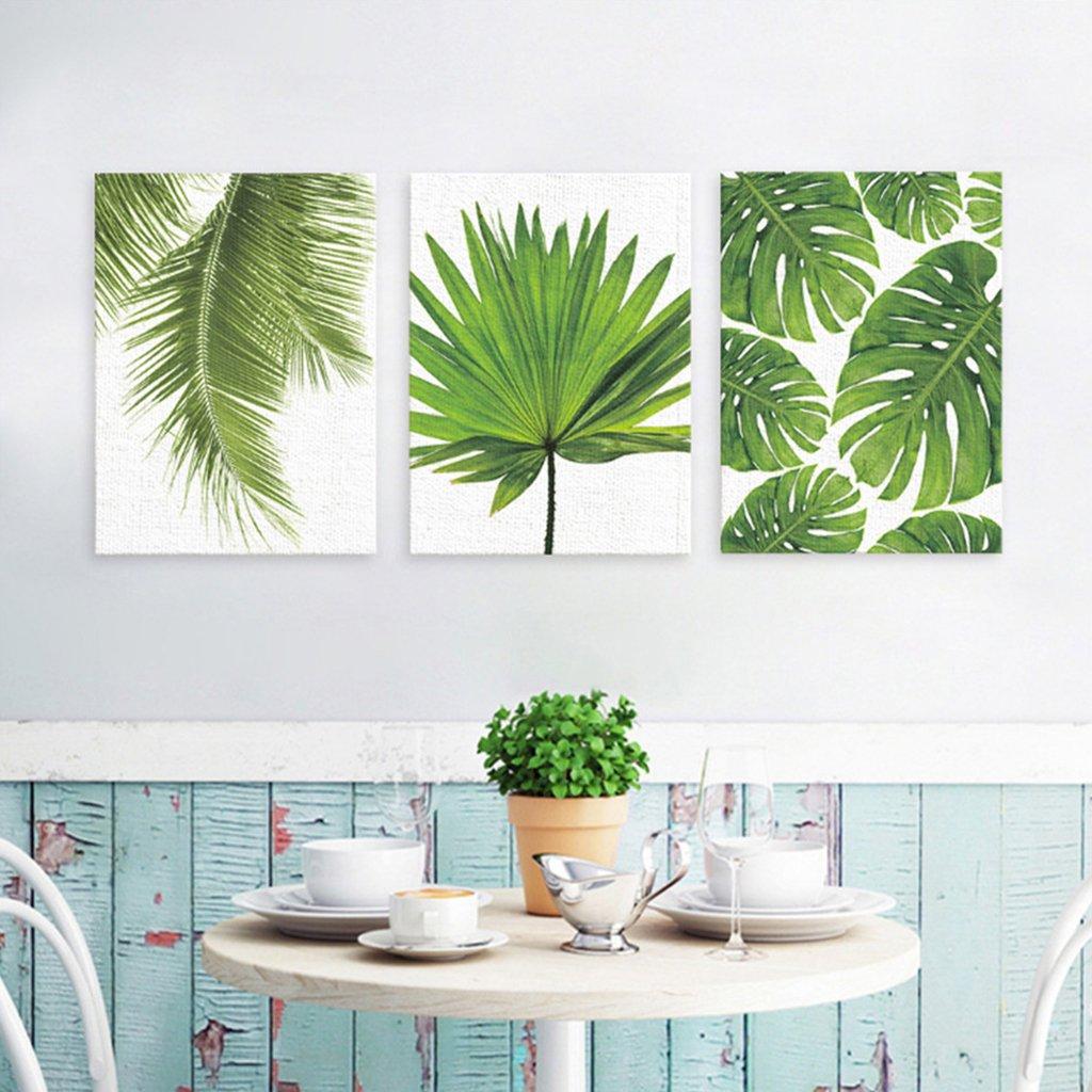 Amazon.de: Sharplace 3 Stück Wandbilder Kunstdruck Leinwand Bilder ...