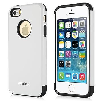 iHarbort iPhone 5S SE Funda Protectora Apple iPhone 5 5S SE ...