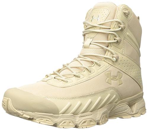02070d6a77 Under ArmourTactical Stiefel Valsetz, color beige, talla 46 EU: Amazon.es:  Zapatos y complementos