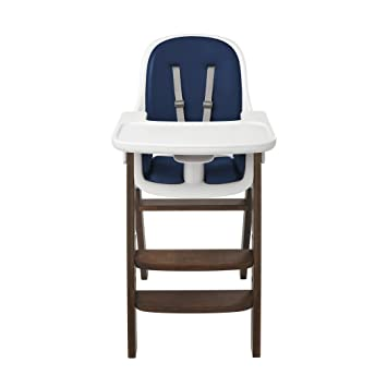 Charmant OXO Tot Sprout High Chair, Navy/Walnut