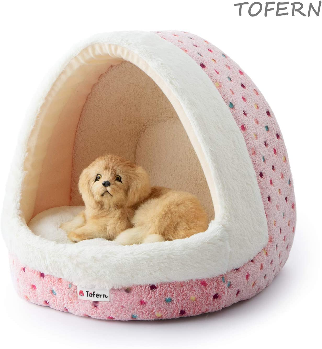 Tofern Pet Igloo for Puppies
