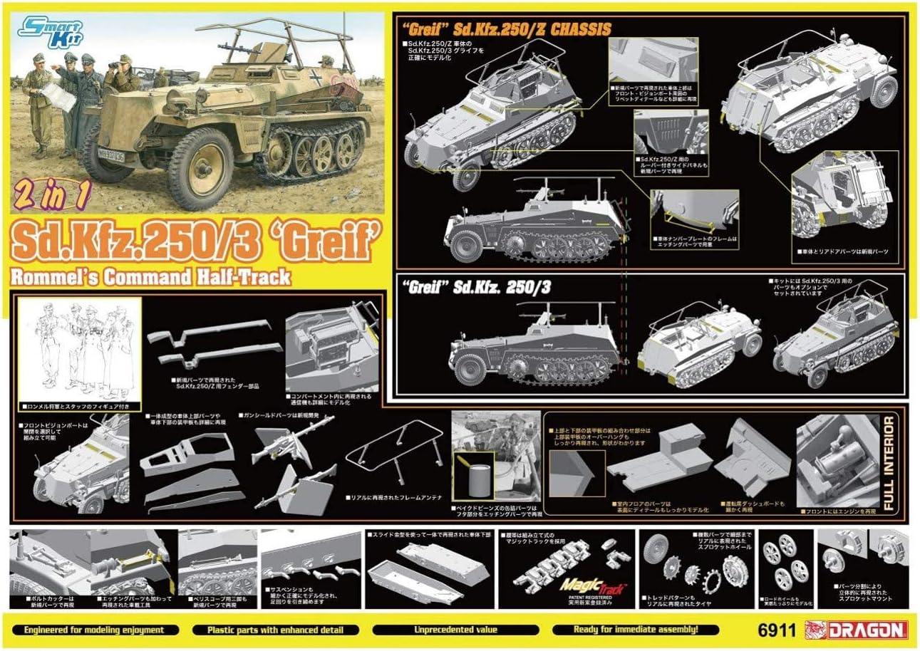 Dragon Sd.kfz250//3 Greif * DRA6911 1//20