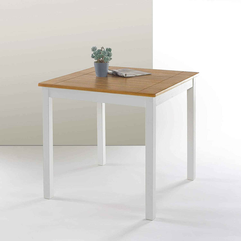 Zinus Farmhouse Dining Table Esstisch Holz Bauernhaus Amazon De Kuche Haushalt Wohnen