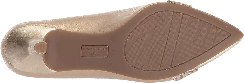 Anne Klein Ferri Pointed Toe Classic 9.5 Pumps, Dark Pewter B0777NHPSC 9.5 Classic B(M) US|Light Natural Multi 4b26a9
