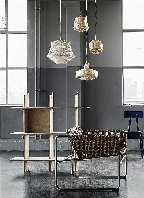 Ikea Lámpara de Techo, Color Natural/Beige de bambú es de bambú Trenzado a Mano y difunde una luz cálida y acogedora. Modelo a Caso Entre los Disponibles: Amazon.es: Hogar