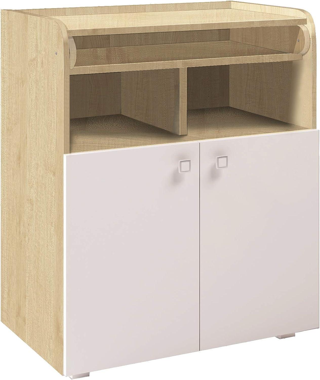 table /à langer /à 2 portes Commode pour b/éb/é avec matelas /à langer extensible commode /à langer