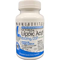 Stabilized R-Alpha Lipoic Acid ((True)) 600mg per Serving [[High Potency & up to...
