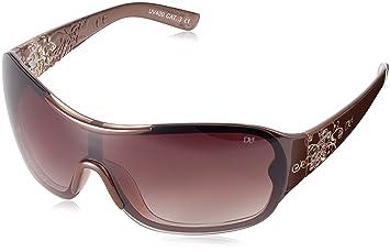 0c420bb6dcc452 Dice Damen Sonnenbrille, brown crystal, D04866-8: Amazon.de: Sport ...