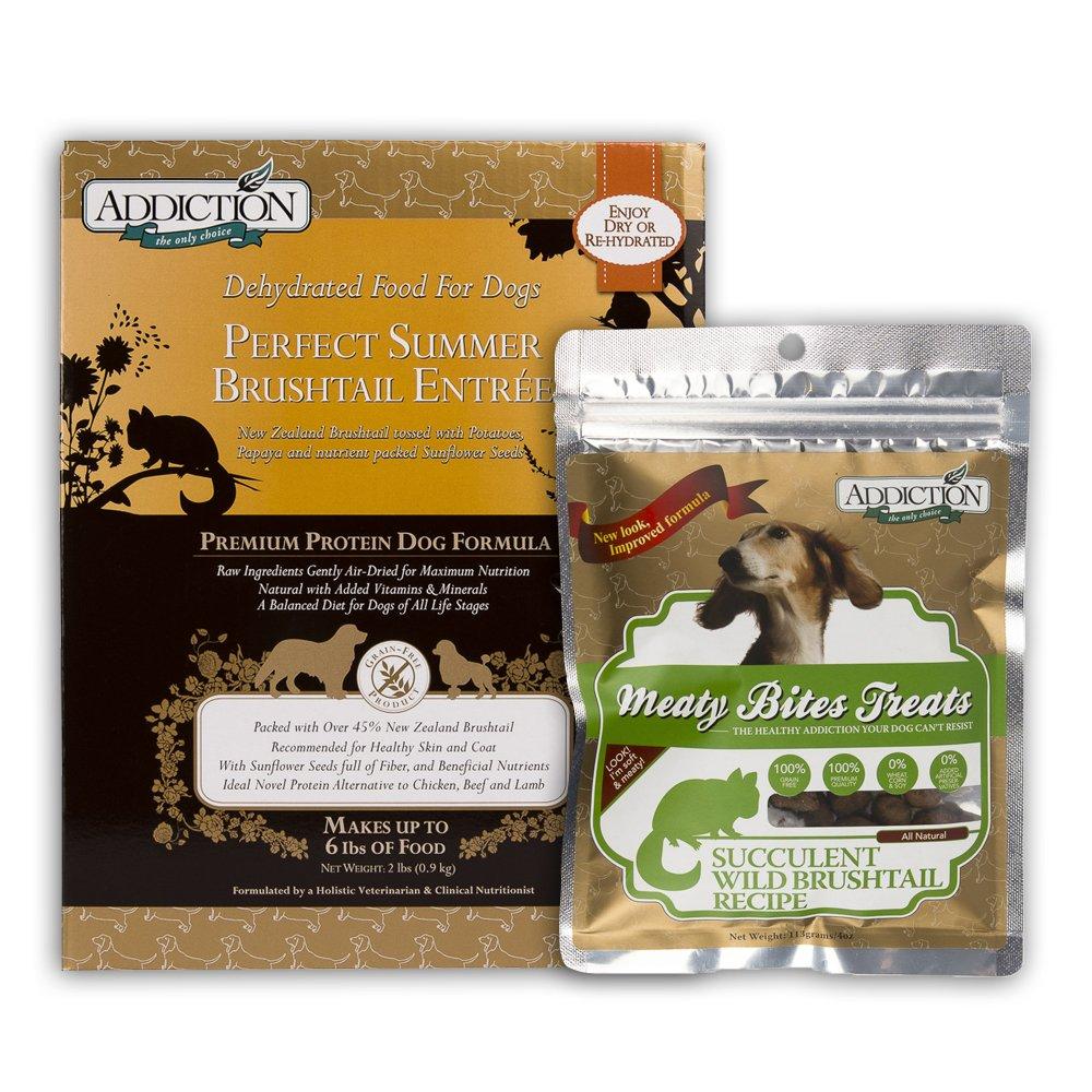 Perfect Summer Brushtail (Dog) 2lbs / Meaty Bite 4oz Bundle