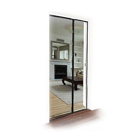 26 opinioni per JAROLIFT Zanzariera a tenda magnetica per porte, 110 x 220 cm bianco