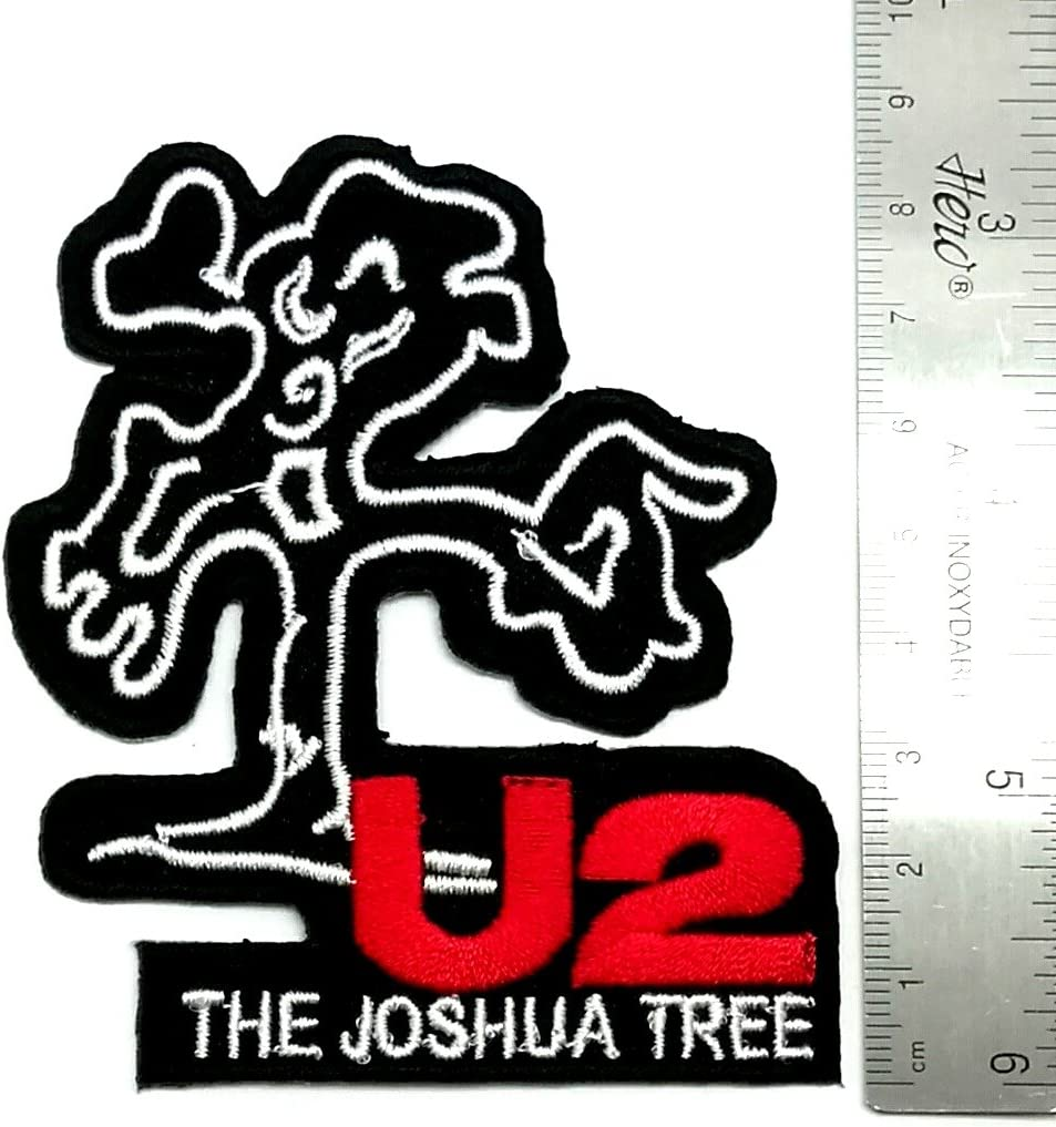 U2 U TWO JOSHUA TREE Embroidered Patch Iron Sew Logo ROCK MUSIC HEAVY METAL BAND