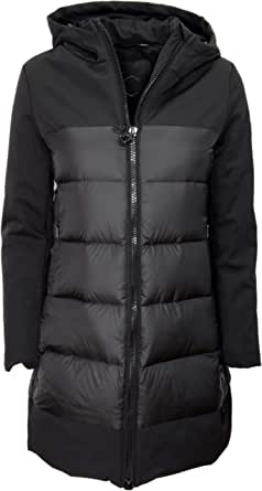 HOX Chaqueta de mujer XD4719 Technical Coat de plumón, color negro