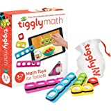 Tiggly Math Blocks Interactive Learning Games for Kids 3 to 7