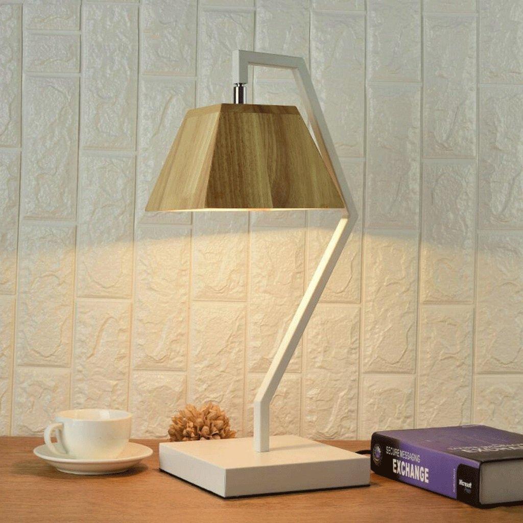 YYF Tischleuchte Tischleuchte Tischleuchte Nachttisch Lampe Wohnzimmer leuchtet kreative Massivholz Kunst Studie dekorative Tischlampe B07BY7W6QG | Ästhetisches Aussehen  86cfc6