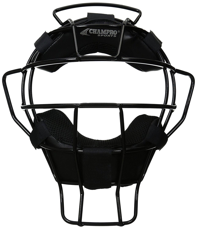 Champro Ump Mask DRI Gear Pads (Black 18-Ounce) [並行輸入品] B075JVD9JB