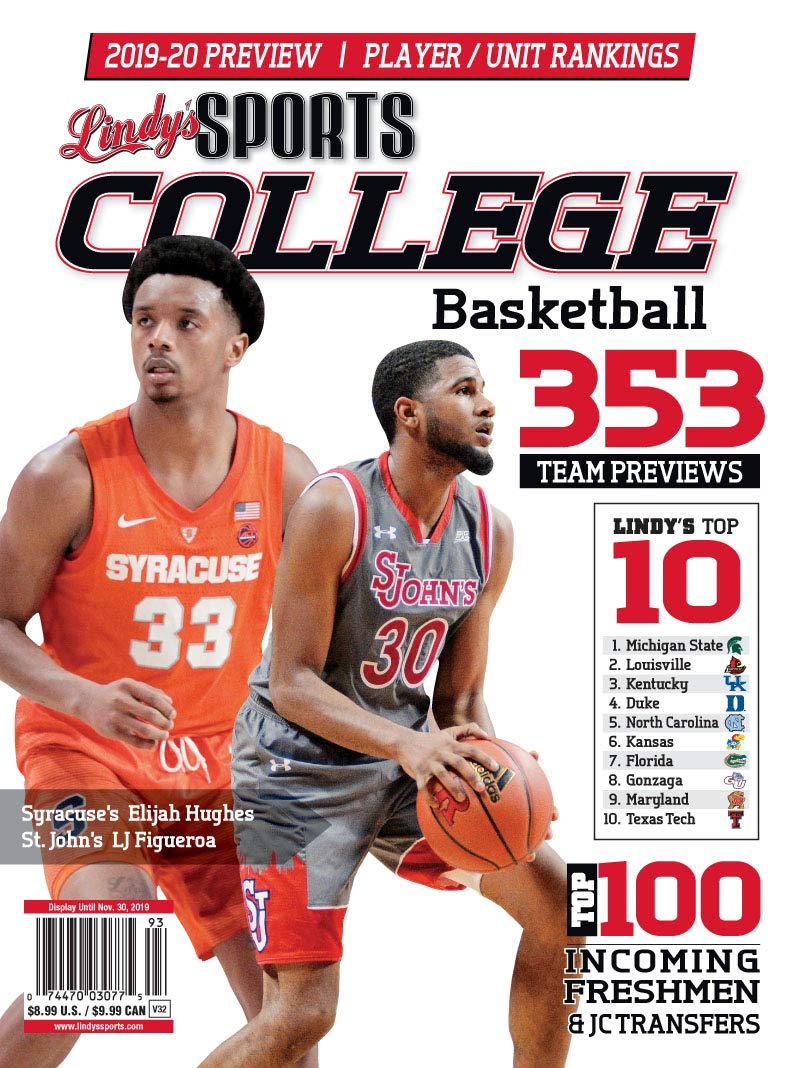 Lindy S 2019 20 College Basketball Preview St Johns