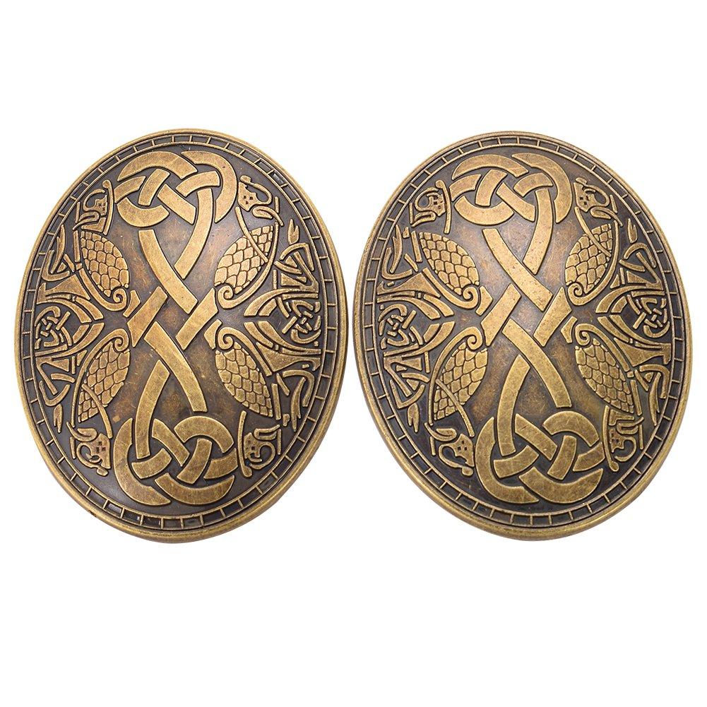GRACEART Medieval Viking Brooch (1 X Pair)