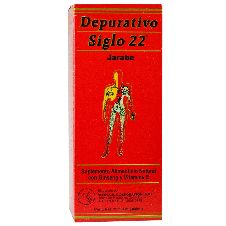 Amazon.com: Depurativo Siglo 22 Suplemeto Dietetico con Jengibre . Century 22 Purifier Syrup: Health & Personal Care