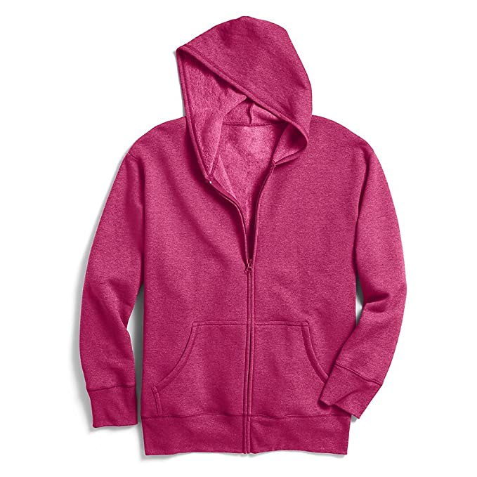 e01be46a829 Image Unavailable. Image not available for. Color  Just My Size Women`s ComfortSoft  EcoSmart Fleece Full-Zip Hoodie ...