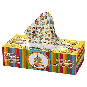 Folat - Servilletas para cumpleaños infantil (con dispensador)
