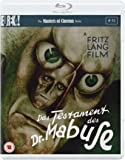Das Testament Des Dr Mabuse [Masters of Cinema] (Dual Format Edition) [Blu-ray] [1933]