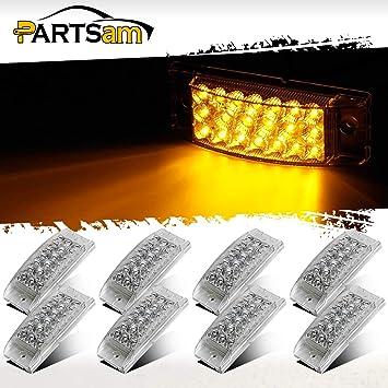 Rectangle Park//Front Turn Amber 15 LED