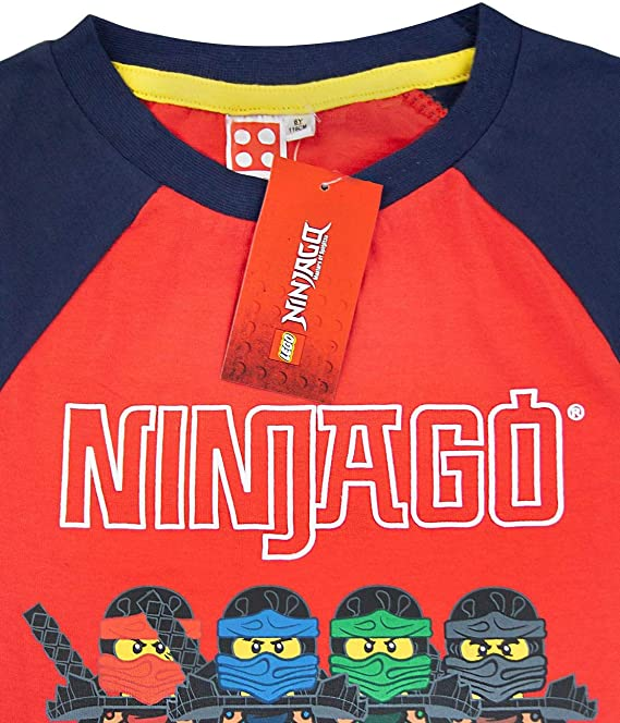 LEGO NINJAGO REBOOTED//4 CHARACTER-BOYS SIZE 4 thru 14-LICENSED SHORT SLEEVE-NWT