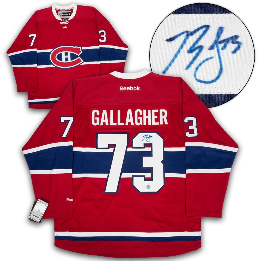 Brendan Gallagher Montreal Canadiens Signed 1st Game  73 Reebok Premier  Jersey - Autographed NHL Jerseys at Amazon s Sports Collectibles Store 2ebe3fb78