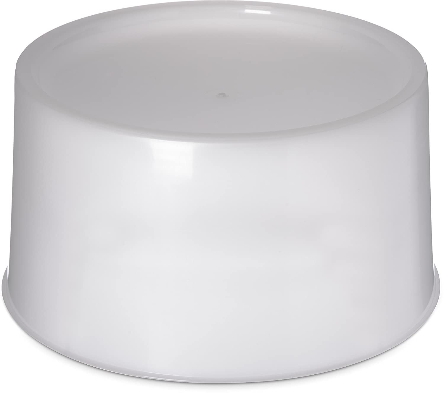 Carlisle 221102 White 12-3/16-Inch Round Dispenser