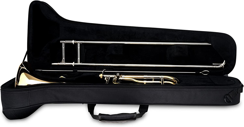 Classic Cantabile QP-42 trombón de cuarta set incl. metrónomo, atril, soporte trombón: Amazon.es: Instrumentos musicales