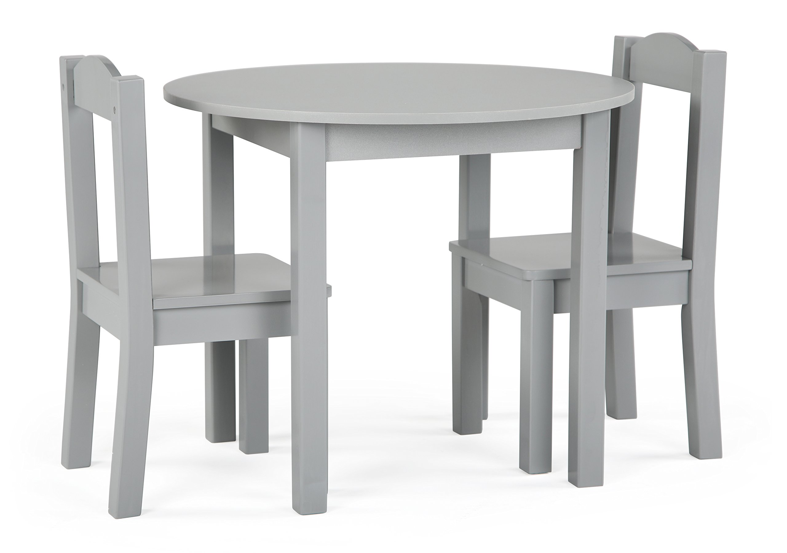 Tot Tutors TC763 Table and Chair, 3-Piece, Grey