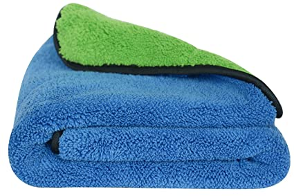 3899a61ed7c9 Amazon.com  SINLAND 720gsm Ultra Thick Plush Microfiber Car Cleaning ...