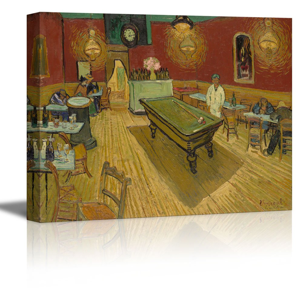 wall26 The Night Café by Vincent Van Gogh - Oil Painting ...