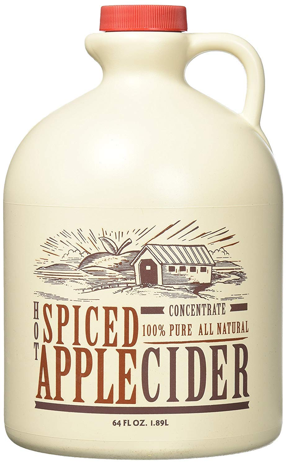 Mountain Cider Company Hot Spiced Cider Concentrate, 64 oz (Case of 4) by Cider Company