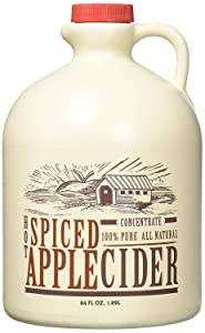Mountain Cider Company Hot Spiced Cider Concentrate, 64 oz (Case of 4)