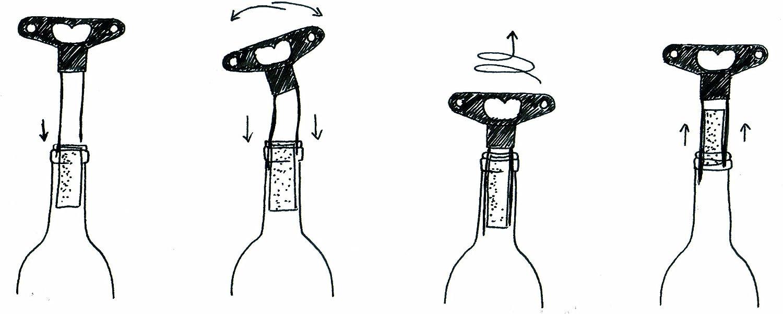 Compra LAtelier du Vin 095235-3 Anniversaire - Sacacorchos con Doble Hoja en Amazon.es