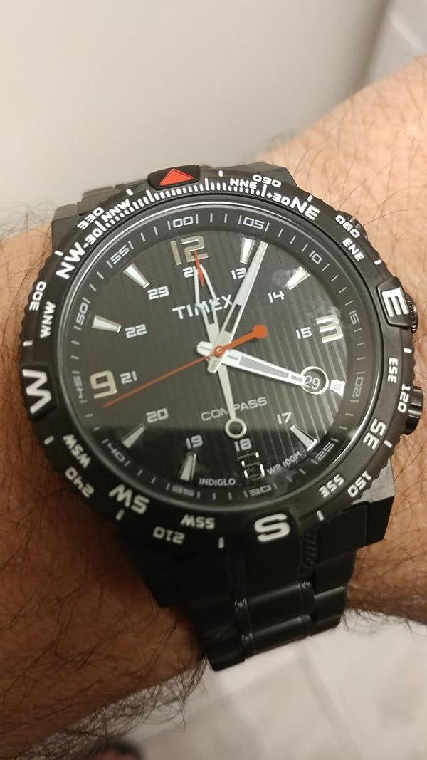 8b92cc6c738d Timex reloj inteligente de cuarzo con compás