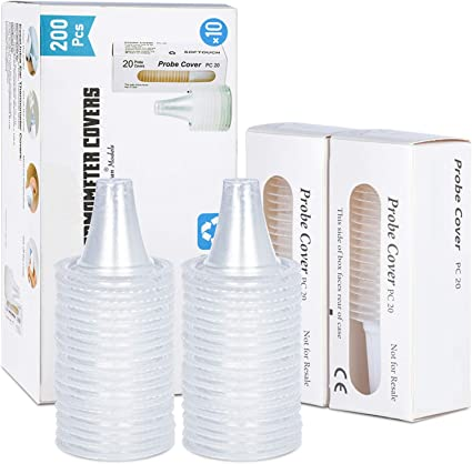 80 Count Personal Care Probe Cover  Braun Lens Filters Thermoscan