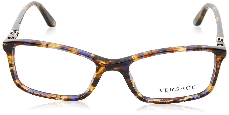 22a76842d71a Versace Eyeglasses VE 3163 BROWN 992 VE3163: Amazon.co.uk: Clothing