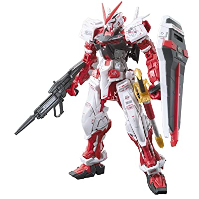 Bandai Hobby 1/144 RG Gundam Astray Red Frame Action Figure: Toys & Games